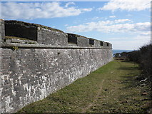 SX9456 : Fortifications, Berry Head by Roger Cornfoot