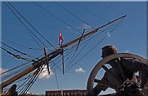 "SU6200 : Bronze statue ""Field Gunner"" by Chris N Illingworth"