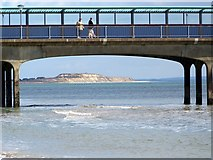 SZ1191 : Walking on the pier, Boscombe by Maigheach-gheal