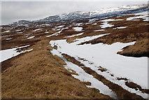 NN5862 : Moorland, Aulich Burn, Loch Rannoch by David G Campbell