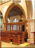 TQ1289 : St John the Baptist, Church Lane, Pinner - Interior by John Salmon