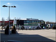 SE5801 : Jumbulance at Lakeside Shopping Centre, Doncaster - 2 by Terry Robinson