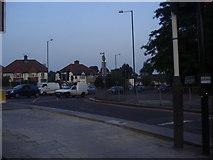 TQ1979 : Popes Lane junction with A406 North Circular Road by David Howard