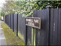 J3370 : Sign, Broomhill Park Central, Belfast by Dean Molyneaux