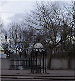 NS5565 : Old fountain on Govan Road by Thomas Nugent
