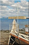 SY6874 : Pier: Portland Harbour by Mr Eugene Birchall