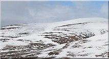 NN8475 : Meall Dubh nan Dearcag by Richard Webb