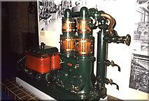 TQ2679 : Science Museum, Willans steam engine by Chris Allen