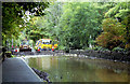 J4398 : Flooding at Magheramorne by Albert Bridge