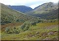 NN4689 : View up Coire Ardair by Nigel Brown