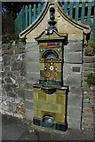 ST4071 : Doulton Drinking Fountain, Clevedon by Philip Halling