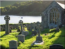 SX1156 : St Winnow Churchyard by Adrian Platt