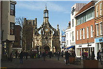 SU8604 : Market Cross, Chichester, Sussex by Peter Trimming