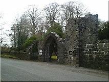 N9155 : Gate, Dunsany Castle, Co Meath by C O'Flanagan
