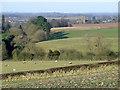 SO7891 : Farmland south of Claverley, Shropshire by Roger  Kidd