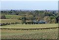 SO7891 : Farmland near Claverley, Shropshire by Roger  Kidd