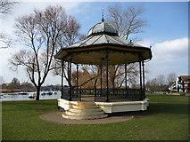 SZ1592 : Christchurch - Bandstand by Chris Talbot