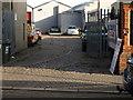 O2626 : Old Tram Depot, Dalkey by Andrew Abbott