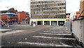 """J3373 : The """"Aurora"""" site, Belfast (2) by Albert Bridge"""