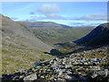 NJ0100 : Looking down Coire Etchachan by Nigel Brown