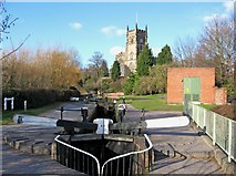 SO8276 : Kidderminster Lock, Staffordshire & Worcestershire Canal by P L Chadwick