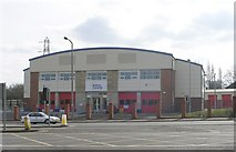 SE2534 : West Yorkshire Fire & Rescue - Safety Central - Stanningley Road by Betty Longbottom