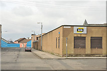 NS5564 : Fairley Street and Carmichael Street by Steven Brown