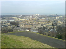 NT2674 : View over New Town from Calton Hill by David Martin