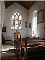 TM1579 : The church of St Andrew in Scole - south aisle by Evelyn Simak