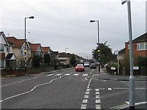 SU4512 : Zebra crossing Middle Road, Southampton by Alex McGregor