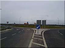 N9551 : New Roundabout, Co Meath by C O'Flanagan