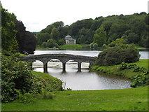 ST7733 : The Palladian bridge at Stourhead by Rod Allday
