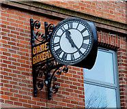 J3472 : The Ormeau Bakery clock, Belfast by Albert Bridge