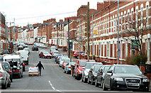 J3472 : Agincourt Avenue, Belfast (2) by Albert Bridge