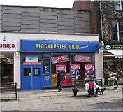 SE2627 : Blockbuster Video - Queen Street by Betty Longbottom