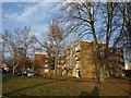 SU3814 : Flats on Wimpson Lane by Derek Harper