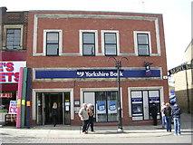 SE2627 : Yorkshire Bank - Queen Street by Betty Longbottom