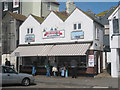 TQ8209 : The Net Shop Jellied Eel Bar by Oast House Archive