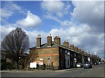 TQ2182 : Railway Cottages, Old Oak Lane by ceridwen
