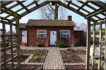 SJ7243 : Cottage Garden display at Bridgemere Garden World by Steve Daniels