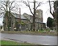 TM1682 : All Saints church in Dickleburgh by Evelyn Simak