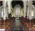 TM1682 : All Saints church in Dickleburgh - view east by Evelyn Simak