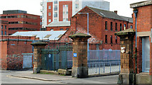 J3374 : Former Belfast Corporation yard by Albert Bridge