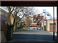 NZ2764 : Grace Street towards the Byker Wall by Andrew Curtis