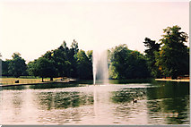 SP0683 : Lake, Cannon Hill Park, Birmingham by Brian Robert Marshall