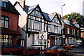 SP0982 : Houses in College Road, Moseley, Birmingham by Brian Robert Marshall