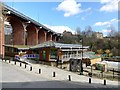 NZ2664 : Ouseburn Farm and Byker Bridge by Andrew Curtis