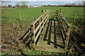 SP0138 : Footbridge near Sedgeberrow by Philip Halling