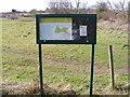 TM3977 : Halesworth Millennium Notice Board by Adrian Cable