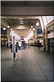 TQ0584 : Concourse, Uxbridge Underground Station, High Street, Uxbridge by Brian Robert Marshall